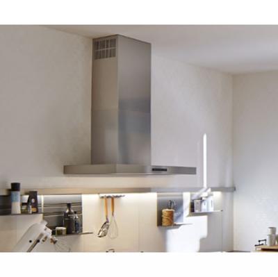 berbel bwh 80 bl wandhaube blockline edelstahl eek a. Black Bedroom Furniture Sets. Home Design Ideas