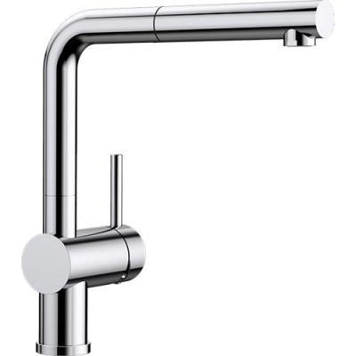 Küchenarmaturen mit schlauchbrause  BLANCO LINUS-S Küchenarmatur 512200 Chrom Schlauchbrause Niederdruck ...