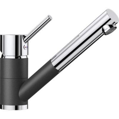 BLANCO ANTAS-S SILGRANIT®-Look Küchenarmatur Chrom Niederdruck ...