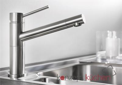 Blanco ALTA Compact Küchenarmatur 517181 Edelstahl gebürstet ...