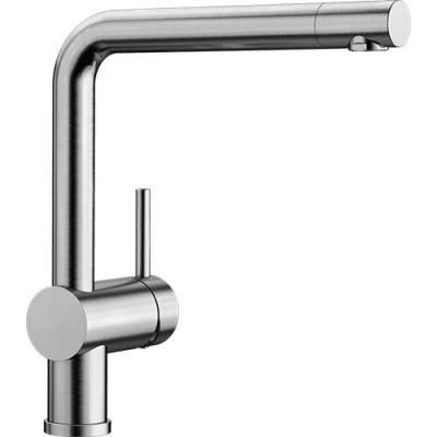 BLANCO LINUS Edelstahl Küchenarmatur gebürstet 517183 Hochdruck ...
