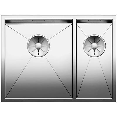 blanco zerox 340 180 u unterbaubecken edelstahl seidenglanz online shop sp len unterbau. Black Bedroom Furniture Sets. Home Design Ideas