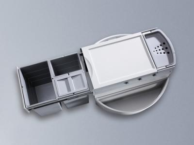 naber selectakit rondo 2 plus abfallsammler f r eckl sungen hellgrau 8011162 online shop. Black Bedroom Furniture Sets. Home Design Ideas