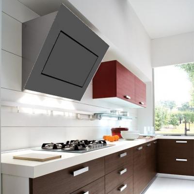 falmec quasar 90 wandhaube kopffrei glas grau design eek a online shop dunstabzug a kopffrei. Black Bedroom Furniture Sets. Home Design Ideas