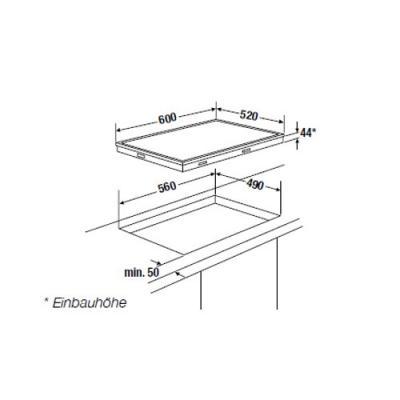 k ppersbusch ek 6442 1 elektro kochfl che edelstahlrahmen comfort herdgebunden online shop. Black Bedroom Furniture Sets. Home Design Ideas