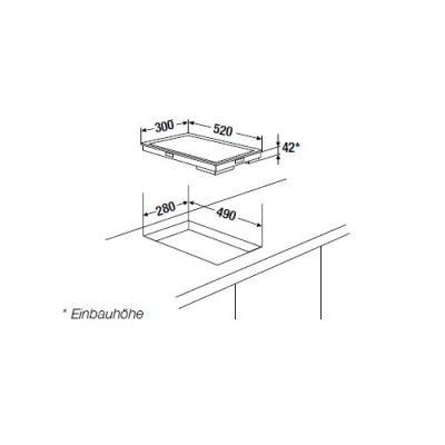 k ppersbusch eke 3721 1 elektro kochfl che edelstahlrahmen premium online shop. Black Bedroom Furniture Sets. Home Design Ideas
