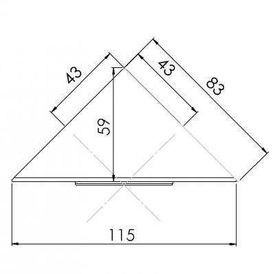 berbel bdl 60 skr deckenhaube skyline round schwarz online shop dunstabzug insel hauben. Black Bedroom Furniture Sets. Home Design Ideas