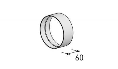 6000313 BERBEL Rundrohrverbinder R 150 mm