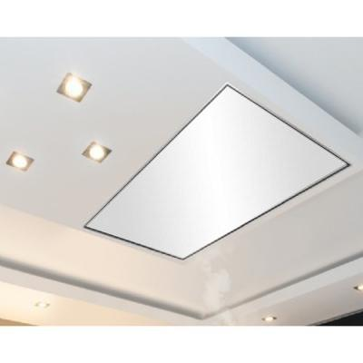 Silverline quadra qud 124 e 120cm edelstahl deckenhaube for Deckenhaube