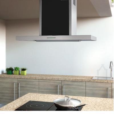 berbel bih 90 st inselhaube smartline schwarz eek c. Black Bedroom Furniture Sets. Home Design Ideas