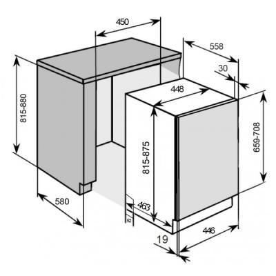 pkm geschirrsp ler dw 9 7 fi vollintegrierbar 45 cm eek a online shop geschirrsp ler. Black Bedroom Furniture Sets. Home Design Ideas