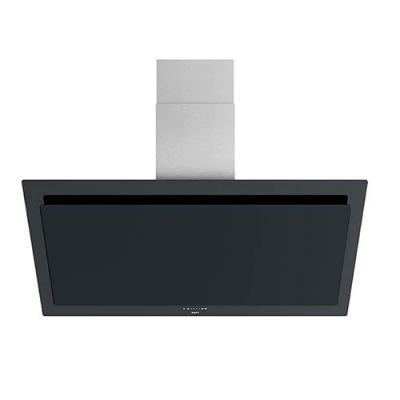 Novy vision 7840 kopffrei dunstabzug glas schwarz edelstahl 120 cm