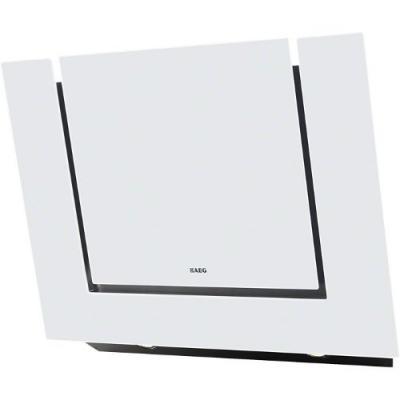 X68163WV10 AEG X 68163 WV10 Kopffrei-Dunstabzugshaube Glas weiß 80cm, EEK C