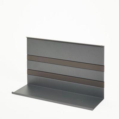 naber linero mosaiq universalablage 2 titangrau 8045117 online shop zubeh r relingsysteme. Black Bedroom Furniture Sets. Home Design Ideas