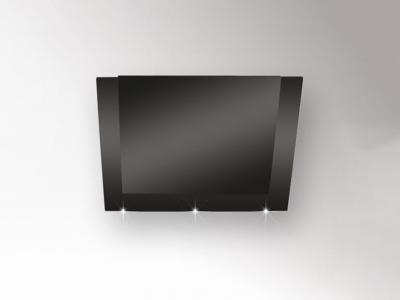 Silverline pandora deluxe paw 985.1 s 90cm schwarz schwarzglas