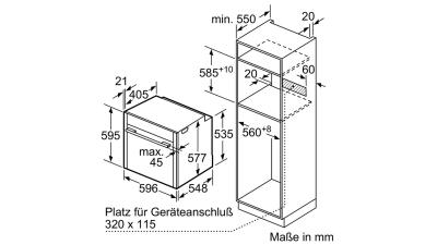 neff bcr4522n elektro einbaubackofen circotherm slide hide edelstahl eek a online shop. Black Bedroom Furniture Sets. Home Design Ideas