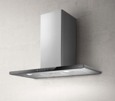 elica galaxy wandesse edelstahl glas schwarz 80 cm. Black Bedroom Furniture Sets. Home Design Ideas