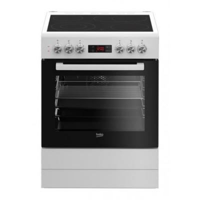 beko fsm 67320 gws elektroherd mit glaskeramikkochfeld wei 60 cm eek a online shop backofen. Black Bedroom Furniture Sets. Home Design Ideas