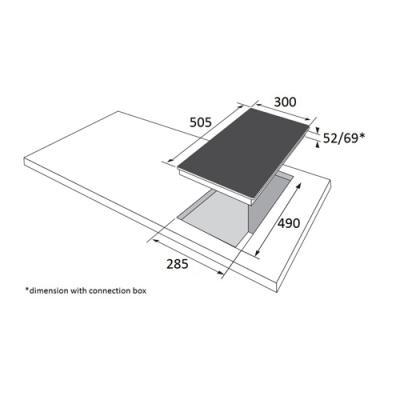 amica kmc 13280 e glaskeramik kochfeld autark edelstahlrahmen 30 cm online shop kochfeld autark. Black Bedroom Furniture Sets. Home Design Ideas