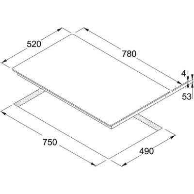 franke maris induktionskochfeld autark fhmr 804 wh 80 cm wei online shop kochfeld. Black Bedroom Furniture Sets. Home Design Ideas