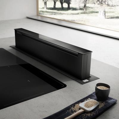 elica downdraft pandora bl 90 cm umluftversion schwarz. Black Bedroom Furniture Sets. Home Design Ideas