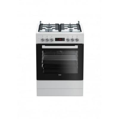 beko fsm 62320 dws elektroherd mit gaskochfeld wei 60 cm eek a online shop backofen kochzentrum. Black Bedroom Furniture Sets. Home Design Ideas