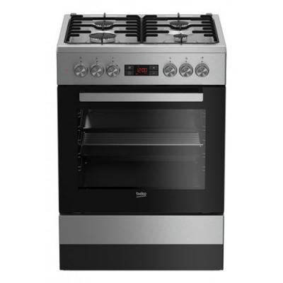 beko fsm 62320 dxs elektroherd mit gaskochfeld edelstahl 60 cm eek a online shop backofen. Black Bedroom Furniture Sets. Home Design Ideas