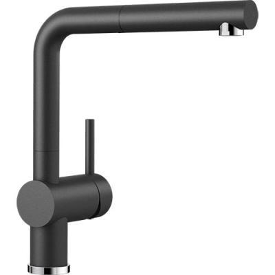 blanco linus s k chenarmatur silgranit look hochdruck online shop armaturen silgranit mit brause. Black Bedroom Furniture Sets. Home Design Ideas