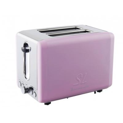 schaub lorenz retro toaster slt2 1sp pink gl nzend online shop. Black Bedroom Furniture Sets. Home Design Ideas