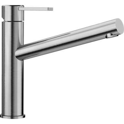 Blanco AMBIS Küchenarmatur Edelstahl Gebürstet Hochdruck 523118