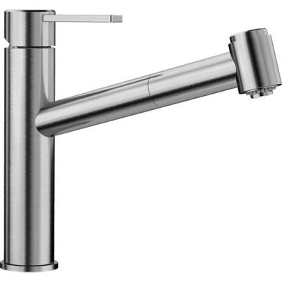 Blanco AMBIS-S Küchenarmatur Edelstahl gebürstet Hochdruck 523119 ...