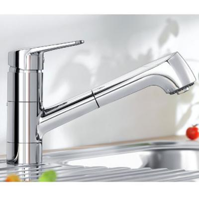 Blanco NOTIS-S chrom Küchenarmatur mit Schlauchbrause Hochdruck ...